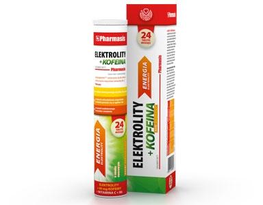 ELEKTROLITY + KOFEINA Pharmasis