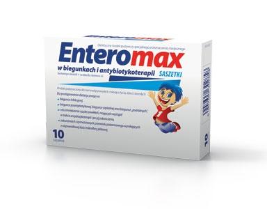 ENTEROMAX x 10 sasz.
