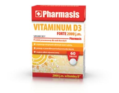 VITAMINUM D3 2.000 j.m. FORTE Pharmasis